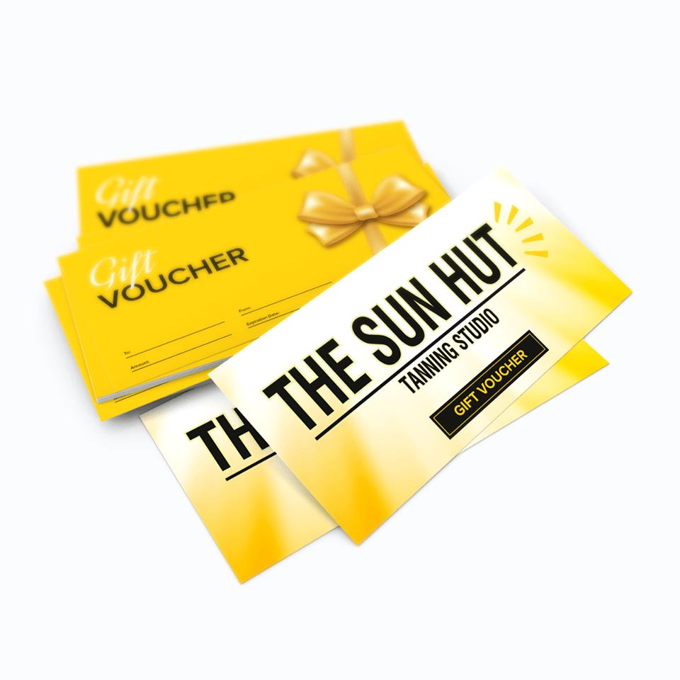 Gift Voucher Design Sheffield - AW Media & Marketing