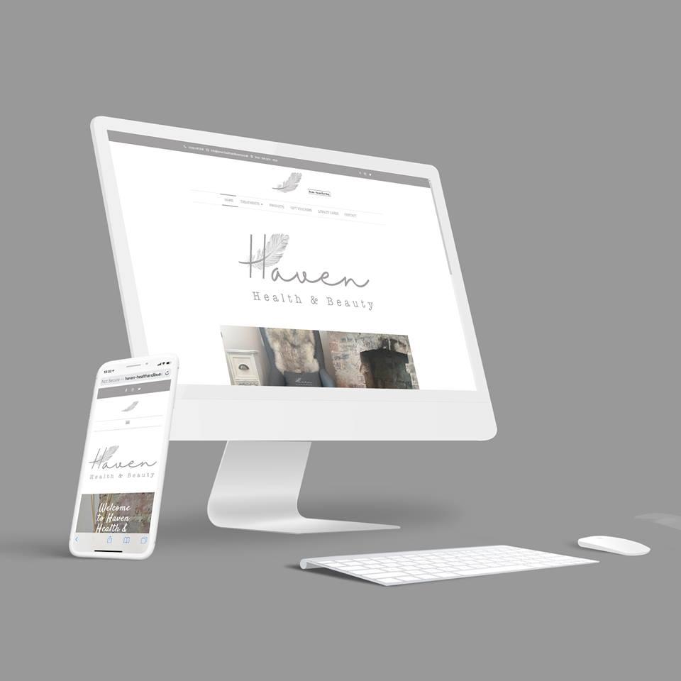Beauty Website Sheffield - AW Media & Marketing