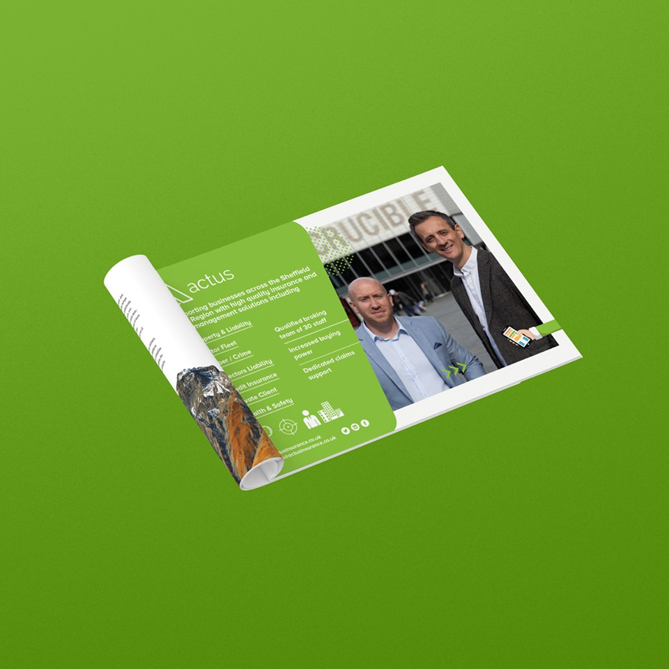 Advert Design Sheffield - AW Media & Marketing
