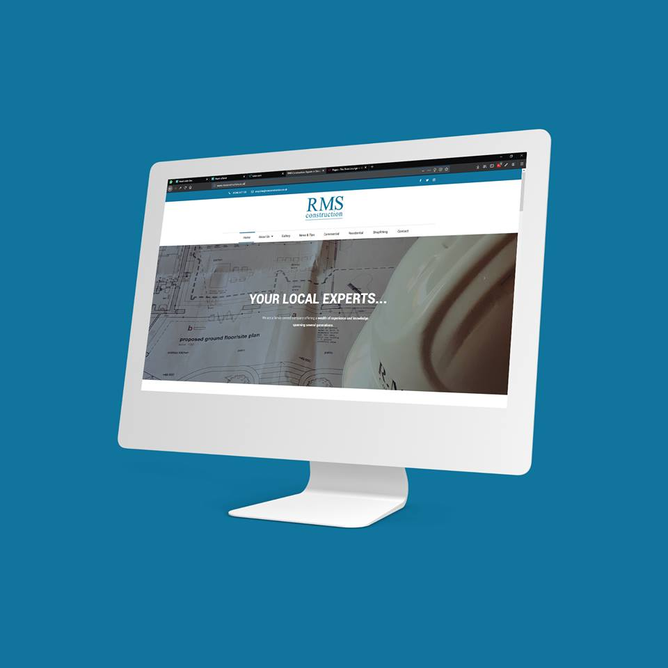 Construction Website Sheffield - AW Media & Marketing