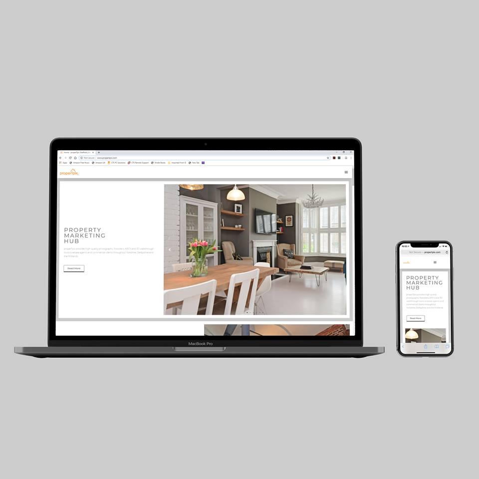 Photography Website Sheffield - AW Media & Marketing